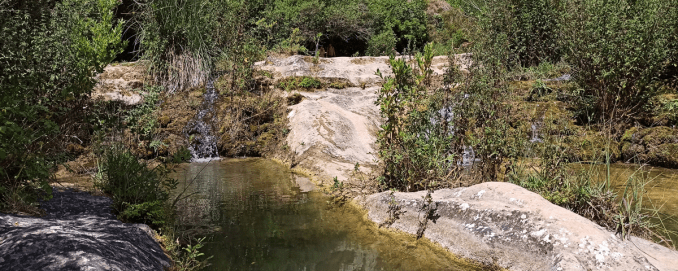 Small water channels