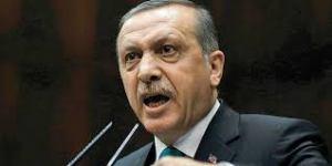 Erdogan, angry
