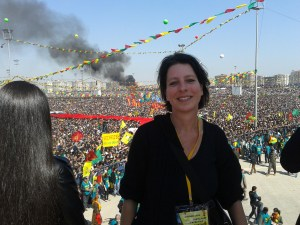 You KurdishMatters writer at Newroz, Diyarbakir, 2013
