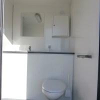Toiletvogn med bad