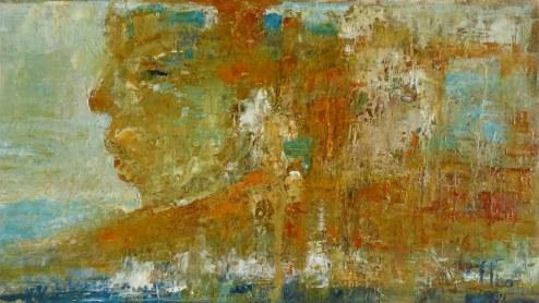 huile sur papier (37x20)