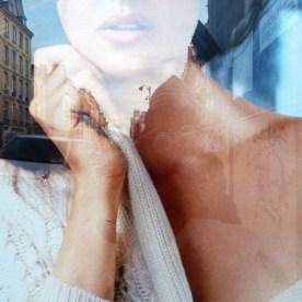Femme, ville, Bellucci, photo, Blaize