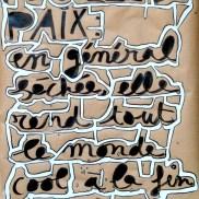 words, work, affiche, peinture, Blaize
