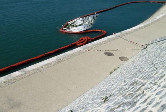 bateau, Nîmes, photographie, Blaize