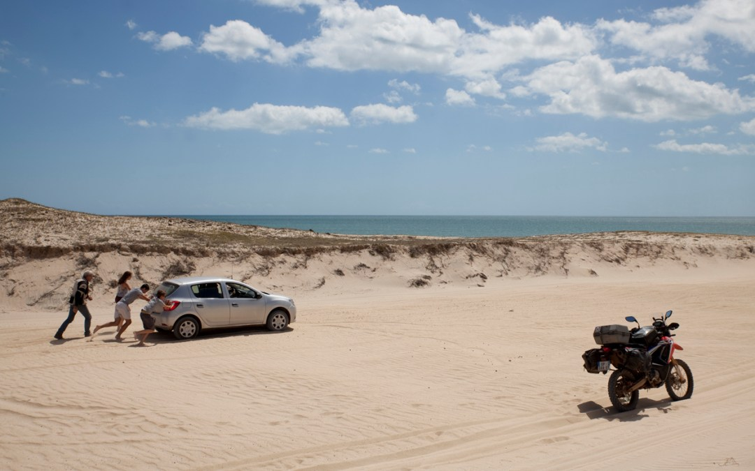 5-Du sable, de l'eau et encore un peu de sable