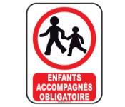 enfants accompagnés obligatoire