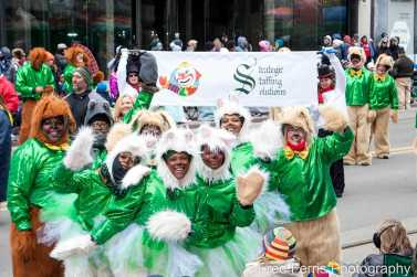 S3 Staffing Solutions event at the 2018 Detroit Parade
