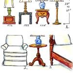 The Right Height Of A Table Lamp For Your End Table Fred Gonsowski Garden Home