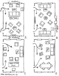 Arranging furniture TWELVE different ways in the Same Room ...