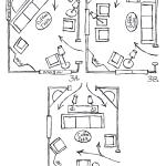 Arranging Furniture Around A Fireplace In The Corner Of A