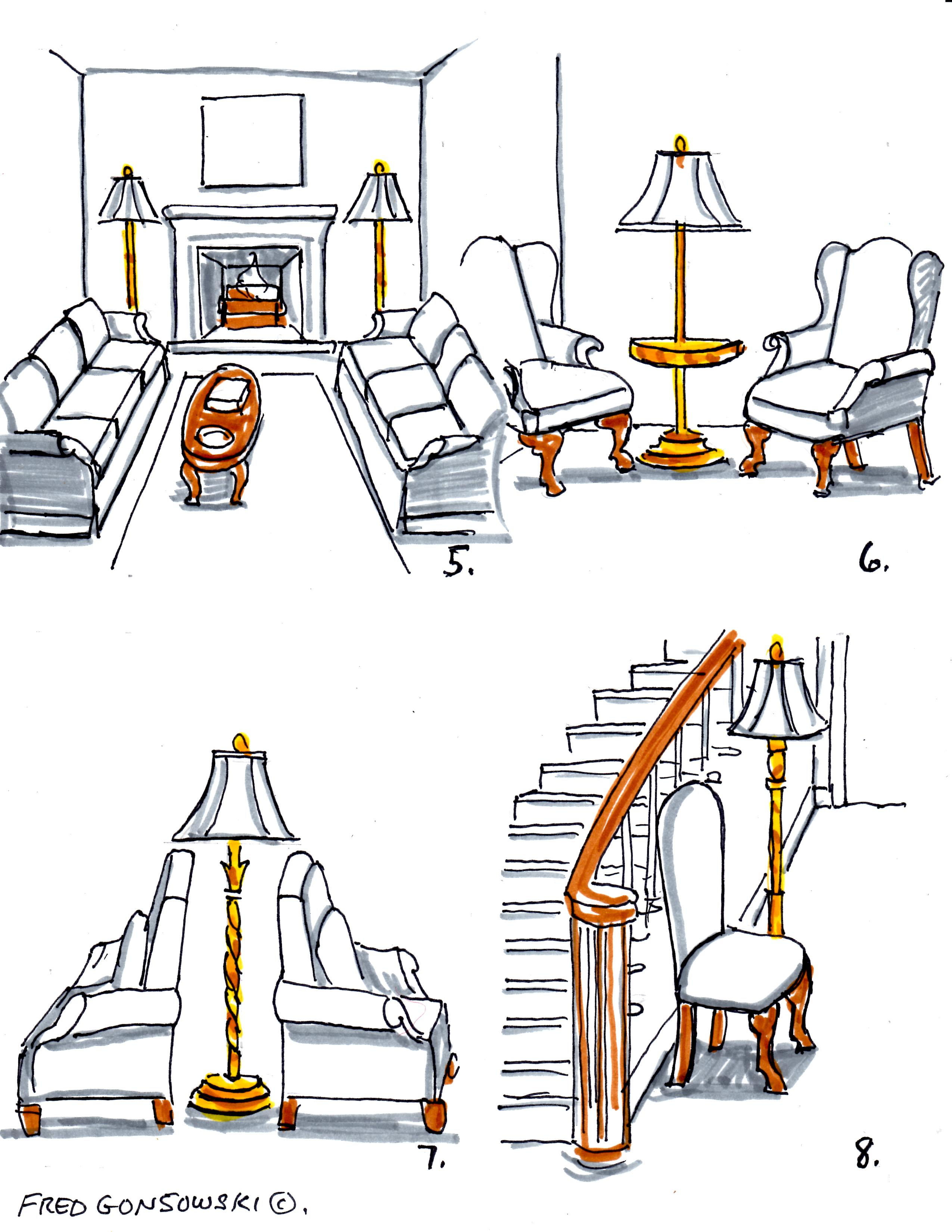 how tall should a table lamp be next to sofa leather and chair with ottoman the answer can you put floor
