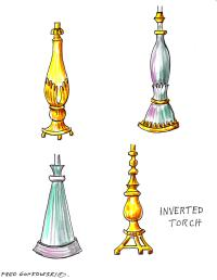 Looking at the different Shapes of Lamp Bases   Fred ...
