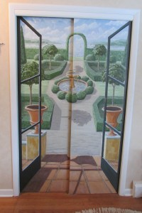 A look at the Hand Painted Doors here in my House | Fred ...