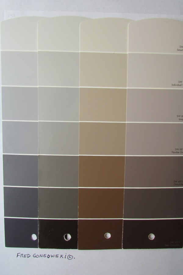 Picking Paint Colors Small House Condominium Apartment Fred Gonsowski Garden Home