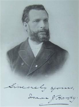 Isaac Joseph Hardy 1838-1907, 1860 Hinckley