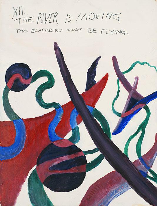 Blackbird XII, 1982, by Fred Hatt