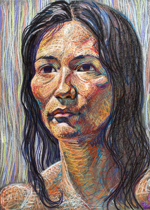 Keryn, 2008, by Fred Hatt