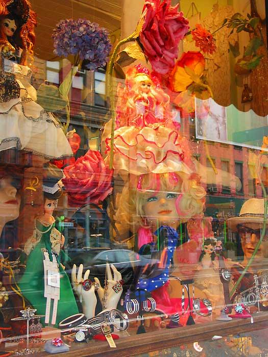 Doll Window, 2004, photo by Fred Hatt