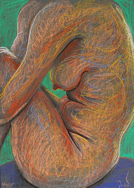 Curl, 2008, by Fred Hatt
