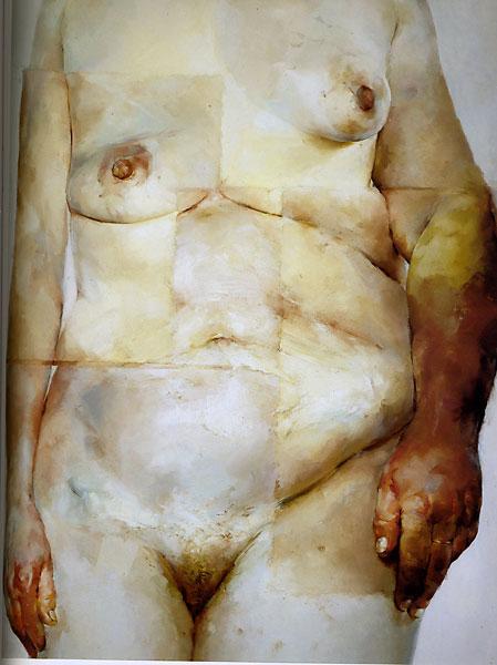 """Jenny Saville, """"Hybrid"""", 1997"""