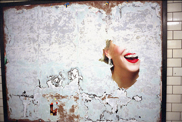 Lipstick Smile, 2009, photo by Fred Hatt