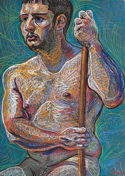Poleman, 2009, by Fred Hatt