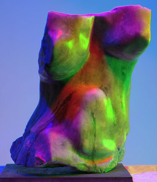 Thomas W. Brown, Alabaster, 2004, photo by Fred Hatt, 2009, merge channels version