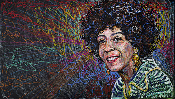 Ellen Stewart, 2011, by Fred Hatt