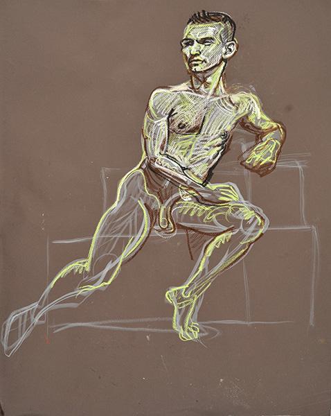 Ch Diagonal, sketch version, 2012, by Fred Hatt