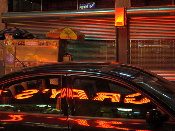 Red Neon, 2010, photo by Fred Hatt