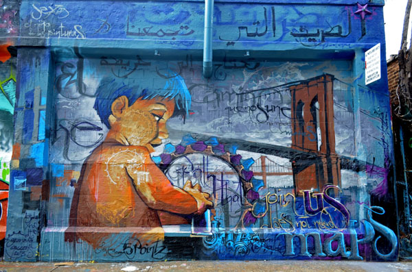 Mural by El Nino de las Pinturas, 5 Pointz, photo by Fred Hatt