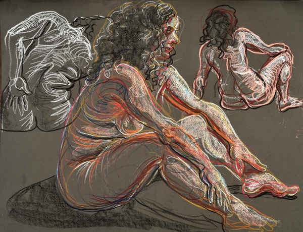 Sitting, 2013, by Fred Hatt