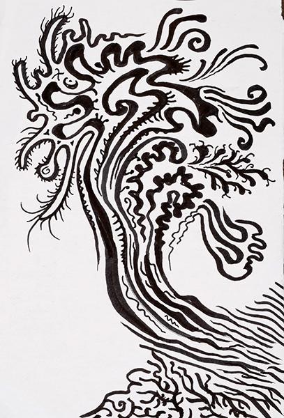 Aromatic Tree, 2013, by Fred Hatt