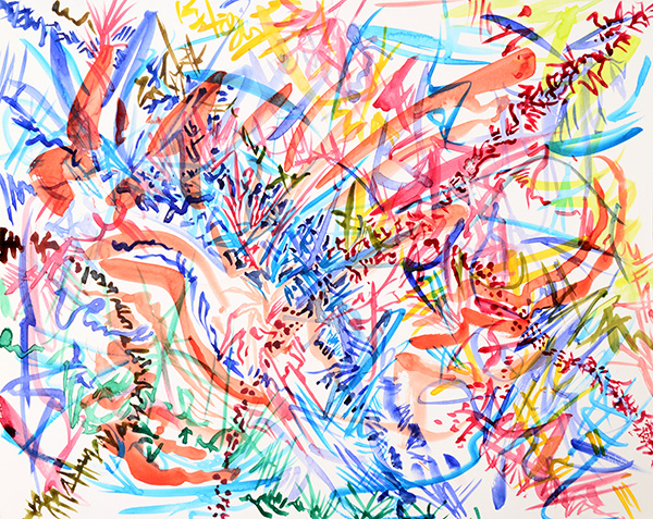 Tracks, 2013, by Fred Hatt