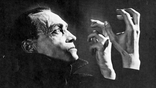 "Still from ""The Hands of Orlac"", 1924 film directed by Robert Wiene"