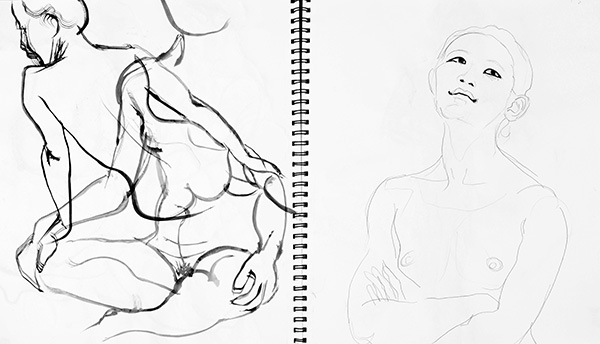 Body and Face, 2013, by Fred Hatt