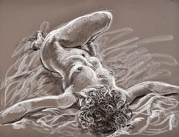 Resting Torque, 2013, by Fred Hatt