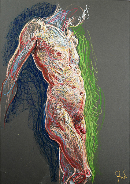 Standing torso, 2004, by Fred Hatt