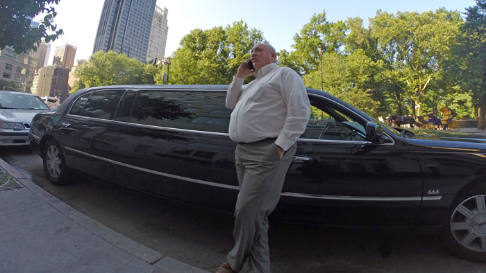 Limo Driver, 2014, photo by Fred Hatt