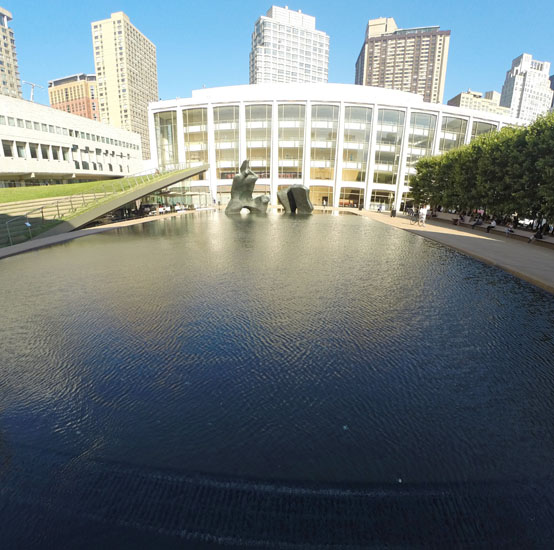 Reflecting Pool, 2014, photo by Fred Hatt
