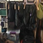 Organizing my travel stuff day