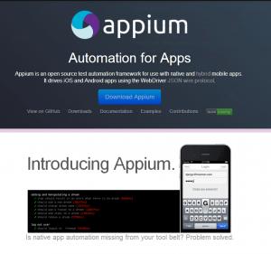Appium - Framework Mobile