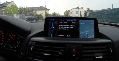 GoPro BMW : Ordinateur de Bord