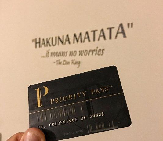 Carte Priority Pass
