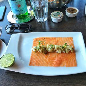 Le saumon fumé d'Ecosse