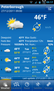 Weather Pro Application