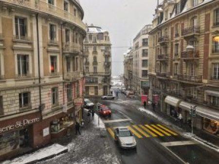 Masculin Center Lausanne : Vue depuis la fenêtre