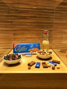 Maison Cailler : Chocolat au lait aux noisettes entières