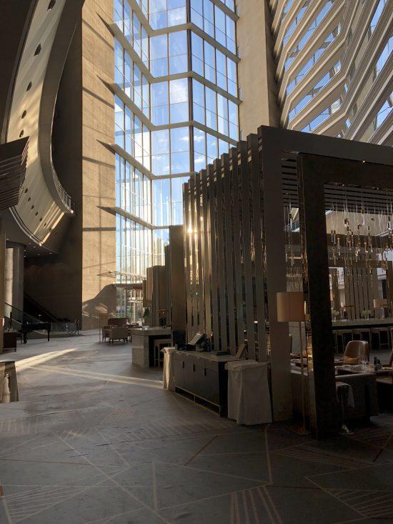 Hotel Fairmont Rey Juan Carlos I à Barcelone, Lobby
