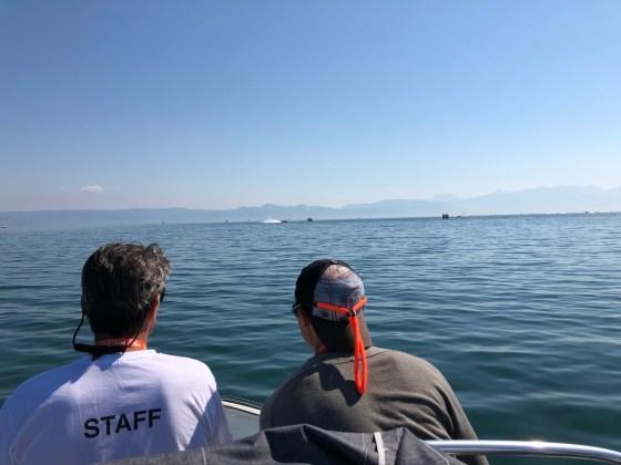 F1 H2O - Surveillance de la course depuis le lac